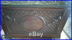 11 Regina Music Box With Ornate Pressed Case Double Comb