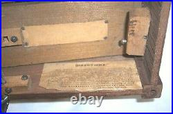 1800's MECHANICAL ORGUINETTE CO. NEW YORK ROLLER ORGAN FOR RESTORATION