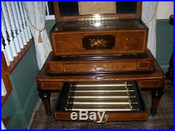 1824 Antique BA Bremond 8 Cylinder Full Air Swiss Music Box