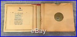 1897 MUSIC BOX & 12 DISCS Oak Imperial Symphonion #6 Schutz-Marke Double Comb