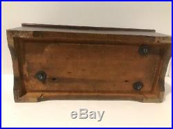 19th Century Cylinder Music Box Inside Wind c. 1898