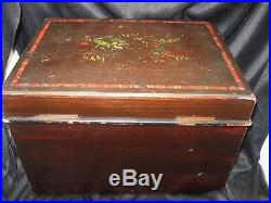 19th Century Symphonion Music Box in Excellent Unrestored Condition. Works Great