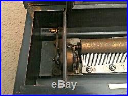 19th century Swiss 4 airs music box