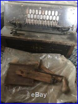 2 Antique Gem Roller Organs & 1 Cob Restoration Project
