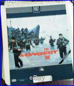 22 Selectavision RCA & Other Videodiscs Tom Sawyer Romeo & Juliet Oh God