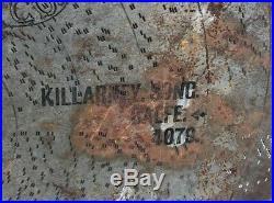 27 Inch Large Regina Music Box Disc Killarney Song Balfe 4079 27 Metal Disc
