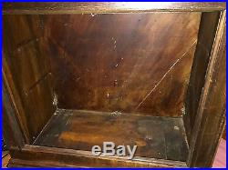 27 Regina Changer Disc Music Box Case and Cabinet for Part or Restoration