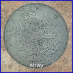 3 Lot Euphonia Music Box Discs Antique 15 3/4 Diameter Vintage
