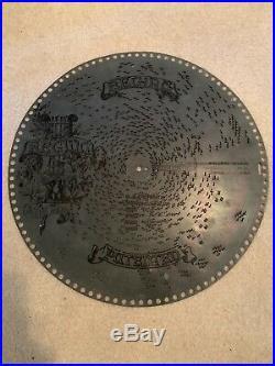 3 Porter & 1 Regina Music Box 15 1/2 metal discs