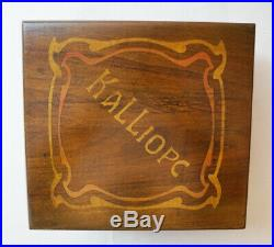 ANTIQUE KALLIOPE DISC MUSIC BOX You can hear me play