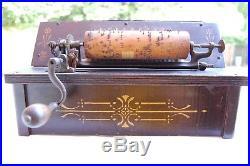 ANTIQUE THE GEM ROLLER ORGAN with 1 COB