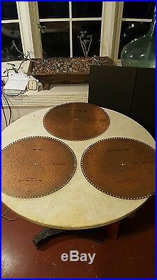 Antique 15 1/2 Regina Music Box Discs 10871 1034 1903 Whoop It Up March