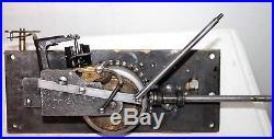 Antique 1880's Swiss Mechanical Disc Music Box In Walnut Case Sounds Terrific
