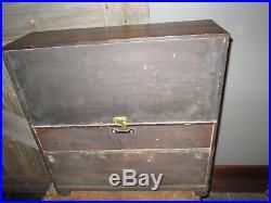 Antique 1888 Music box Mermod Freres interchangeable childs piano rare