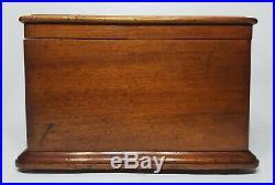 Antique 1897 Regina Disk Music Box, Single Comb, 43 Disks, Sounds Great