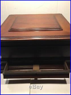 Antique 19th Century Double Comb REGINA 15 1/2 Disk Music Box No Movement