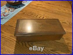 Antique 6 Tune Cylinder Music Box