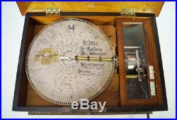 Antique Adler Fortuna Disc Music Box