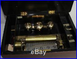 Antique Bornand Music Box Specialists Ny 1860 Switzerland Cylinder Music Box