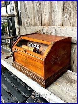 Antique Chautauqua Roller Organ by Autophone Company NY