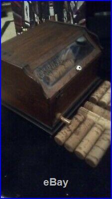 Antique Concert Roller Organ