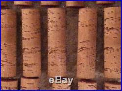 Antique Concert Roller Organ 1880's PLUS 49 Original Pin Cobs dated 1885