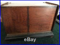 Antique Concert Roller Organ Pre 1900 PLUS 18 original cobs