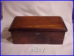 Antique Cylinder 6 Tune Columbia Music Box Circa 1884 Paillard