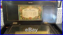 Antique Cylinder Music Box, Sublime Harmonie 1874/75