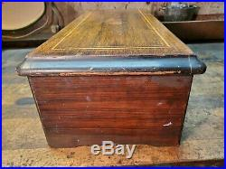 Antique Cylinder Swiss Type Music Box Case Parts Governor Restoration Project