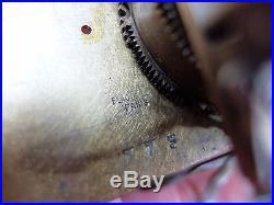 Antique Enamel Singing Bird Box Automaton Music Box Jewelry Box (watch Video)