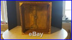 Antique Euphonia Music Box Case for Parts or Restoration Needs