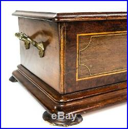Antique French Inlayed Music Box