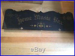 Antique Home Music Box Roller Organ Cob Organette Home Music Box