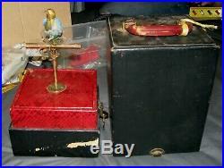 Antique Karl Griesbaum Bontems Automation Mechanical Singing Bird J. Phalibois