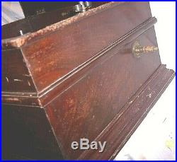 Antique Large Criterion Music Box For Parts Or Restoration