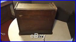 Antique Mechanical Organette Roller Organ Roll Playing Music Box C. 1890 Project