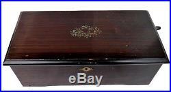Antique Mermod Freres Cylinder Music Box 6 Tunes