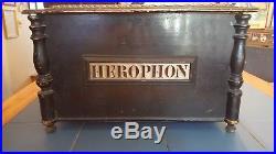 Antique Music Box Herophon