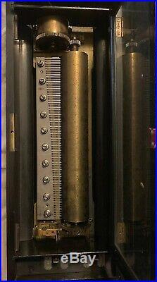 Antique Music box inlaid case