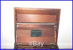 Antique Musical Cabinetto Mechanical Organette Orguinette New York Music Organ