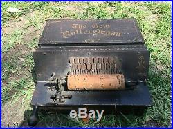 Antique Original GEM ROLLER ORGAN