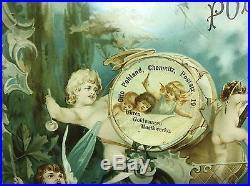 Antique POLYPHON Leipzig Germany 19th Century 17 Disc