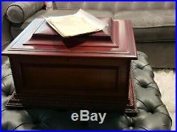 Antique REGINA MUSIC BOX + 26/15.5 Discs. 1896. Works
