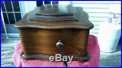 Antique REGINA REGINAPHONE Music Box -Very Nice- 24 Discs included- Make Offer
