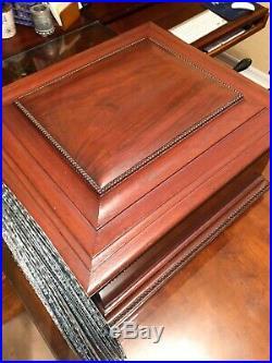 Antique Regina Music Box Pre-1900s 17 discs included (a $600+ value)