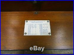 Antique Regina Music Box Tested & Working Includes 15 1/2 Inch Discs