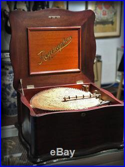 Antique Reginaphone, Musicbox, Disc Player