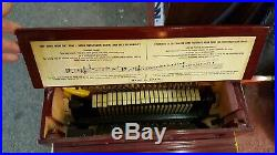 Antique Roller Monkey Organ Steet Piano Grinder