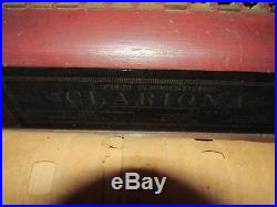 Antique Roller Organ Paper Reed Pipe Clariona Nyc For Restoration Or Parts